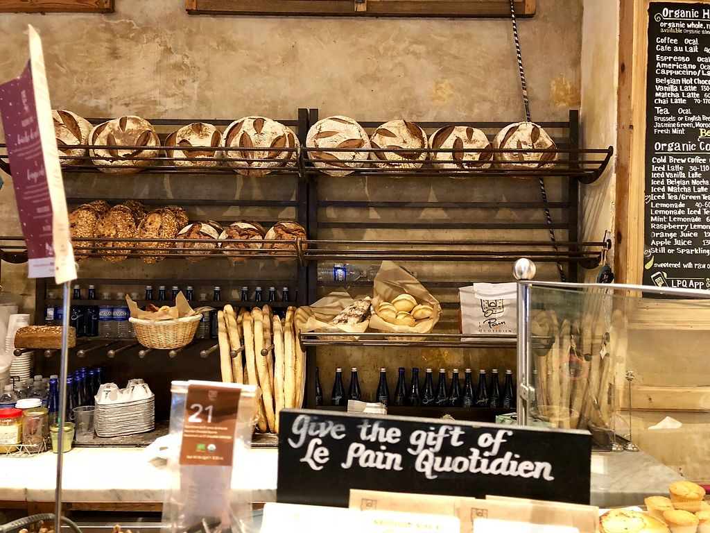 """Photo of Le Pain Quotidien - 7th Ave  by <a href=""""/members/profile/marky_mark"""">marky_mark</a> <br/>bread <br/> December 19, 2017  - <a href='/contact/abuse/image/33266/337321'>Report</a>"""