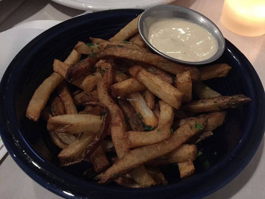 "Photo of Cafe Gratitude - Venice  by <a href=""/members/profile/jergusko"">jergusko</a> <br/>Fantastic fries <br/> October 24, 2017  - <a href='/contact/abuse/image/33282/318277'>Report</a>"