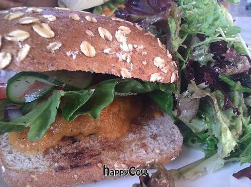"Photo of Cafe Gratitude - Venice  by <a href=""/members/profile/Chia"">Chia</a> <br/>Veggie burger <br/> August 29, 2012  - <a href='/contact/abuse/image/33282/37141'>Report</a>"
