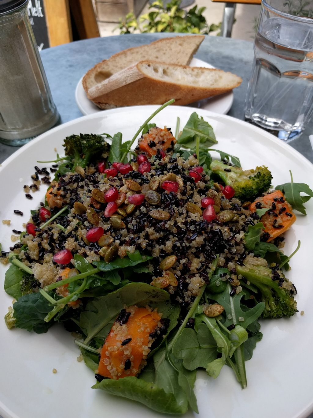 "Photo of Le Pain Quotidien - Robertson Blvd  by <a href=""/members/profile/Sonja%20and%20Dirk"">Sonja and Dirk</a> <br/>warm winter grain bowl <br/> March 25, 2016  - <a href='/contact/abuse/image/33309/141310'>Report</a>"