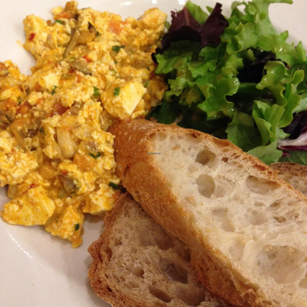 """Photo of Le Pain Quotidien  by <a href=""""/members/profile/Chantal711"""">Chantal711</a> <br/>organic tofu scramble <br/> January 12, 2015  - <a href='/contact/abuse/image/33313/90272'>Report</a>"""