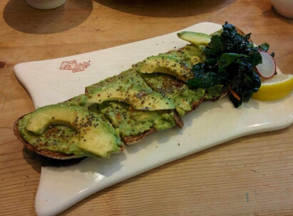 "Photo of Le Pain Quotidien  by <a href=""/members/profile/alexandra_vegan"">alexandra_vegan</a> <br/>avocado toast <br/> May 29, 2016  - <a href='/contact/abuse/image/33322/151322'>Report</a>"
