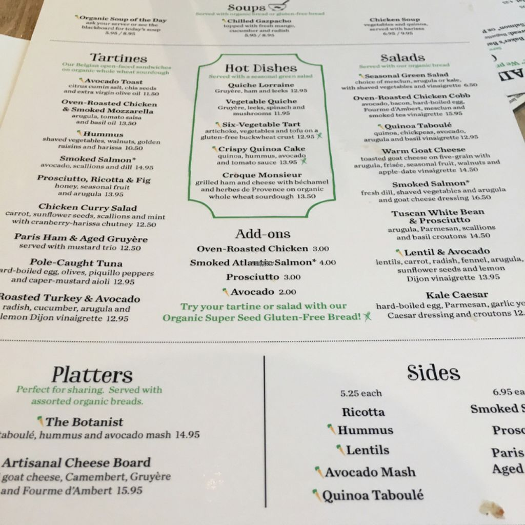 """Photo of Le Pain Quotidien - F St  by <a href=""""/members/profile/daroff"""">daroff</a> <br/>menu <br/> August 21, 2016  - <a href='/contact/abuse/image/33325/170425'>Report</a>"""
