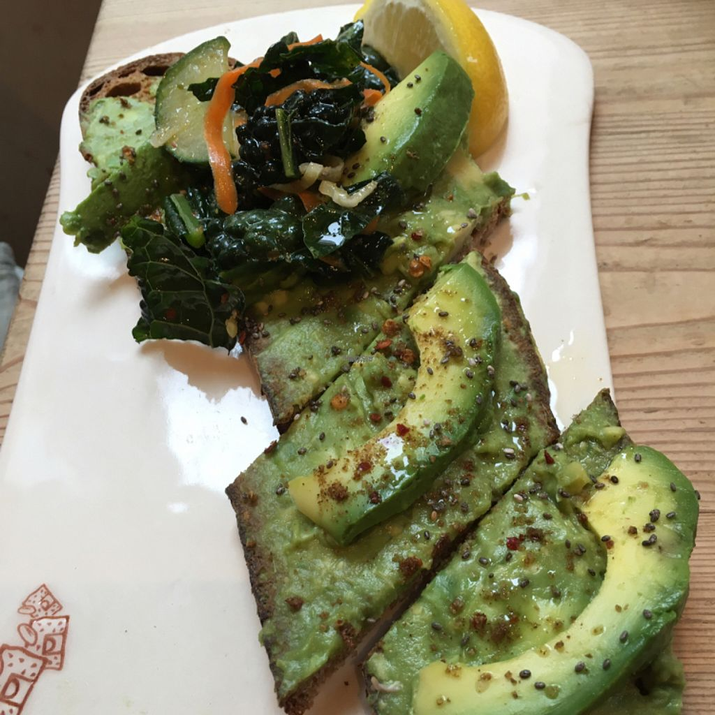 """Photo of Le Pain Quotidien - F St  by <a href=""""/members/profile/daroff"""">daroff</a> <br/>Avocado Toast <br/> August 21, 2016  - <a href='/contact/abuse/image/33325/170433'>Report</a>"""