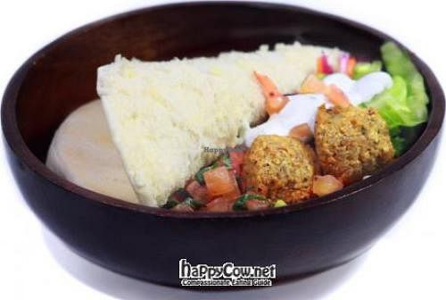 """Photo of Happy Falafel Bali  by <a href=""""/members/profile/peterdundas"""">peterdundas</a> <br/>Famous falafel, looks a whole lot better in real life <br/> July 19, 2012  - <a href='/contact/abuse/image/33331/34682'>Report</a>"""