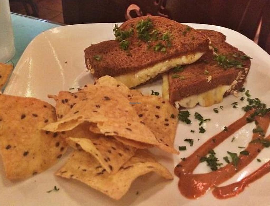 """Photo of Green Erth Bistro  by <a href=""""/members/profile/NaturallyLala"""">NaturallyLala</a> <br/>Kids Grill Cheese  <br/> September 5, 2014  - <a href='/contact/abuse/image/33360/196141'>Report</a>"""