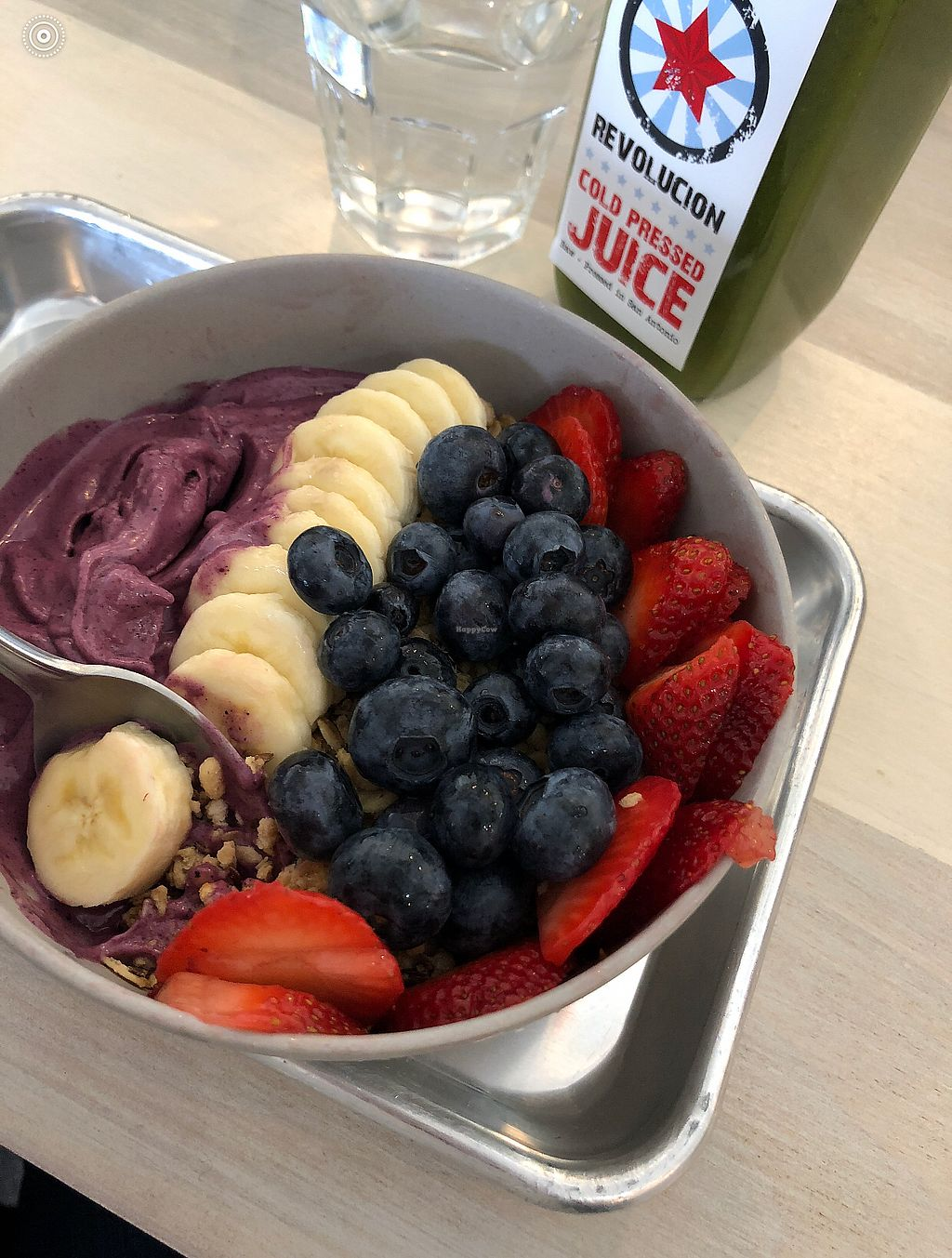 "Photo of Revolucion Coffee and Juice  by <a href=""/members/profile/geehearn"">geehearn</a> <br/>PB&J bowl- a MUST TRY <br/> March 17, 2018  - <a href='/contact/abuse/image/33368/372101'>Report</a>"