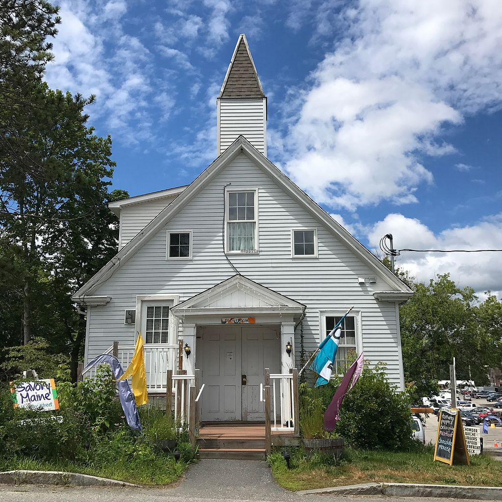 """Photo of Savory Maine Dining and Provisions  by <a href=""""/members/profile/Sarah%20P"""">Sarah P</a> <br/>front <br/> July 26, 2017  - <a href='/contact/abuse/image/33375/285001'>Report</a>"""