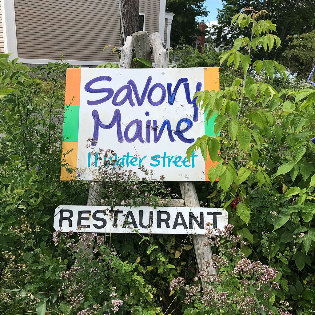"""Photo of Savory Maine Dining and Provisions  by <a href=""""/members/profile/Sarah%20P"""">Sarah P</a> <br/>sign <br/> July 26, 2017  - <a href='/contact/abuse/image/33375/285022'>Report</a>"""