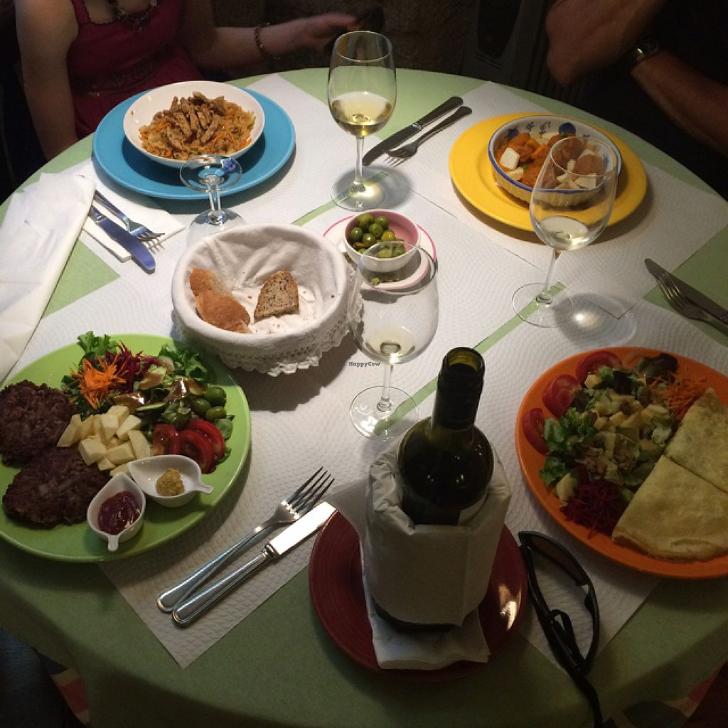 """Photo of Galgala Vegetariano  by <a href=""""/members/profile/Delphinus"""">Delphinus</a> <br/>delicious fresh food <br/> August 7, 2015  - <a href='/contact/abuse/image/33401/112654'>Report</a>"""