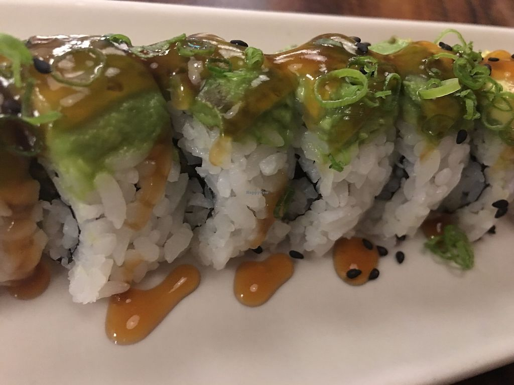 """Photo of Aonami Sushi  by <a href=""""/members/profile/TraciH"""">TraciH</a> <br/>Vegan sushi! <br/> November 13, 2017  - <a href='/contact/abuse/image/33414/325323'>Report</a>"""