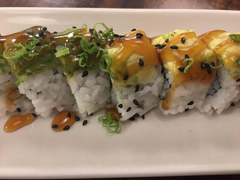 """Photo of Aonami Sushi  by <a href=""""/members/profile/TraciH"""">TraciH</a> <br/>Vegan Sushi! <br/> November 13, 2017  - <a href='/contact/abuse/image/33414/325324'>Report</a>"""