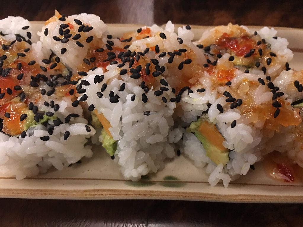 """Photo of Aonami Sushi  by <a href=""""/members/profile/TraciH"""">TraciH</a> <br/>Vegan Sushi! <br/> November 13, 2017  - <a href='/contact/abuse/image/33414/325327'>Report</a>"""
