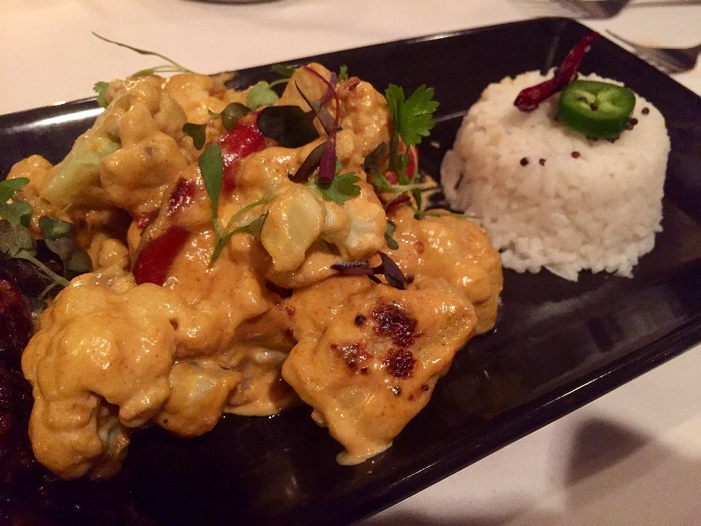 """Photo of Vermilion  by <a href=""""/members/profile/happycowgirl"""">happycowgirl</a> <br/>Cauliflower and rice (vegan) <br/> October 16, 2017  - <a href='/contact/abuse/image/33435/315847'>Report</a>"""