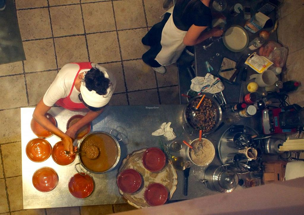 "Photo of Il Colibri  by <a href=""/members/profile/den%20glade%20ku"">den glade ku</a> <br/>Chef Rita and her assistant, seen from above, preparing the food <br/> July 13, 2014  - <a href='/contact/abuse/image/33449/73931'>Report</a>"