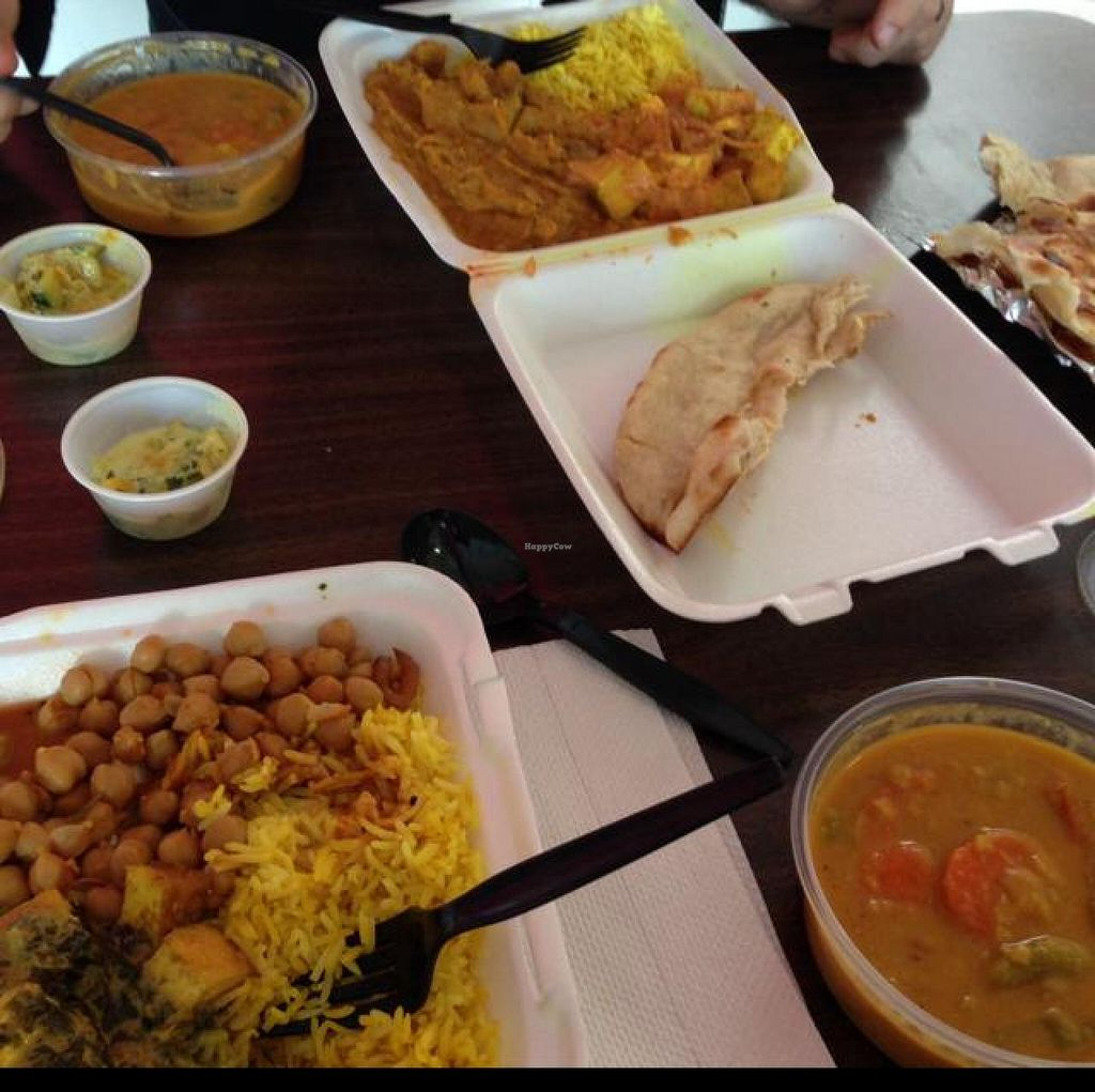 """Photo of India Cafe Kailua Curry Factory  by <a href=""""/members/profile/oleiah"""">oleiah</a> <br/>vegetarian picks <br/> May 8, 2014  - <a href='/contact/abuse/image/33474/69669'>Report</a>"""
