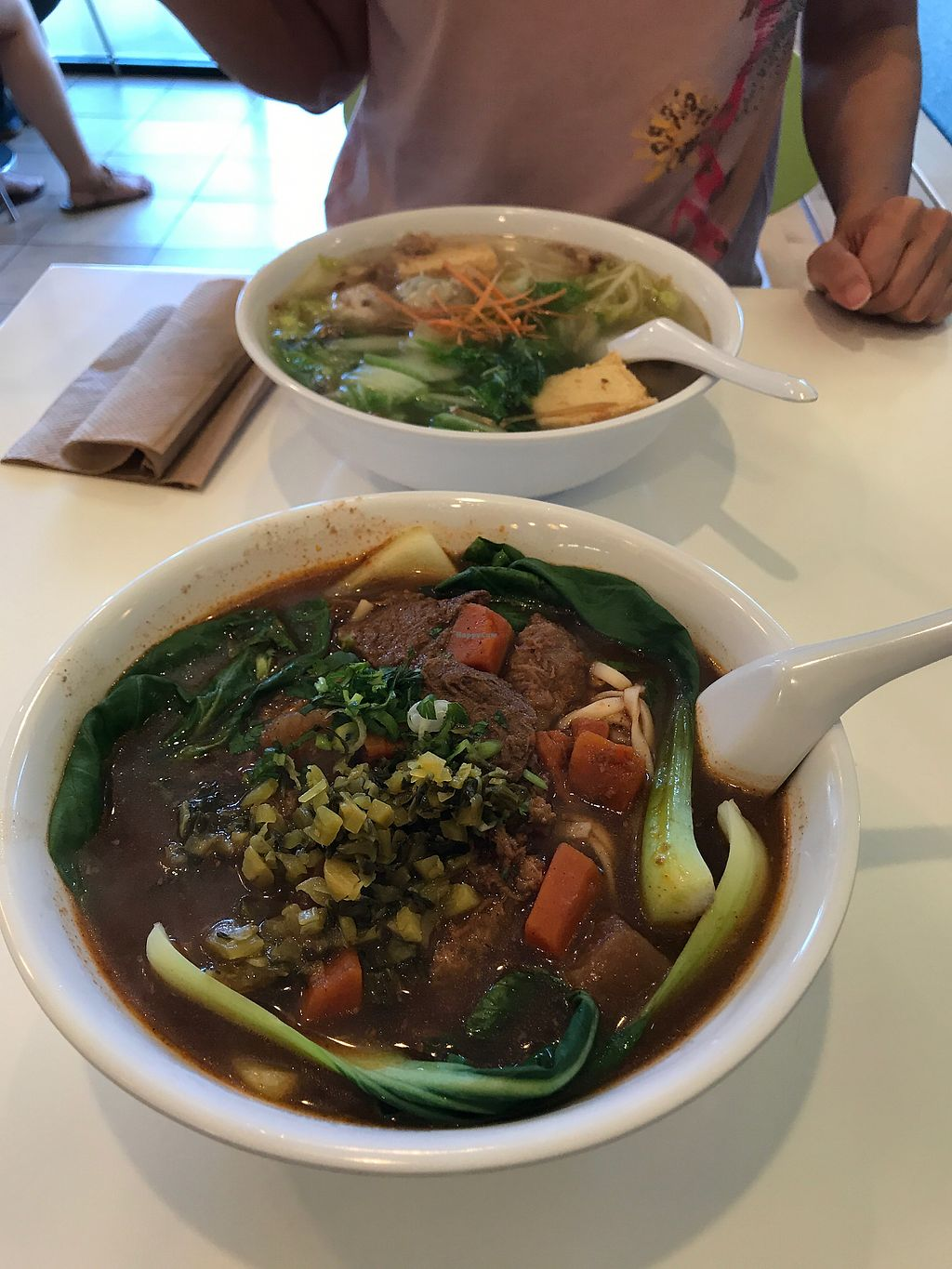 """Photo of Happiness Cafe  by <a href=""""/members/profile/AllenJeng"""">AllenJeng</a> <br/>noodle soup <br/> July 22, 2017  - <a href='/contact/abuse/image/33481/283366'>Report</a>"""
