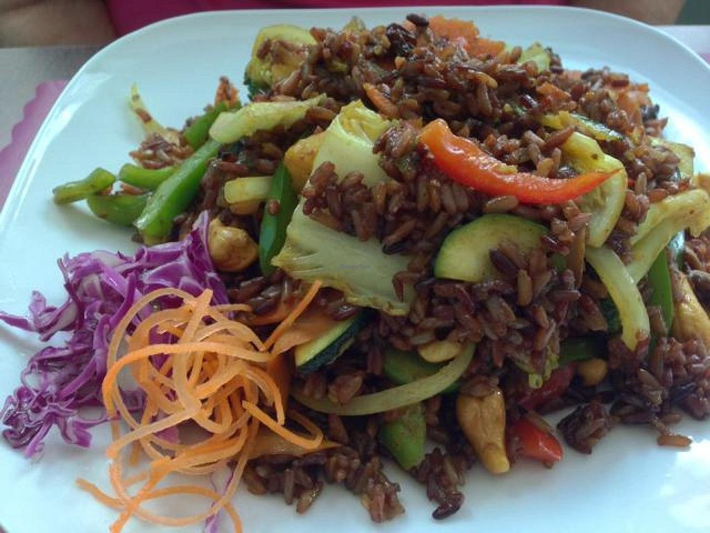 "Photo of Vegan Plate  by <a href=""/members/profile/happycowgirl"">happycowgirl</a> <br/>pineapple fried rice <br/> June 17, 2014  - <a href='/contact/abuse/image/33482/72184'>Report</a>"