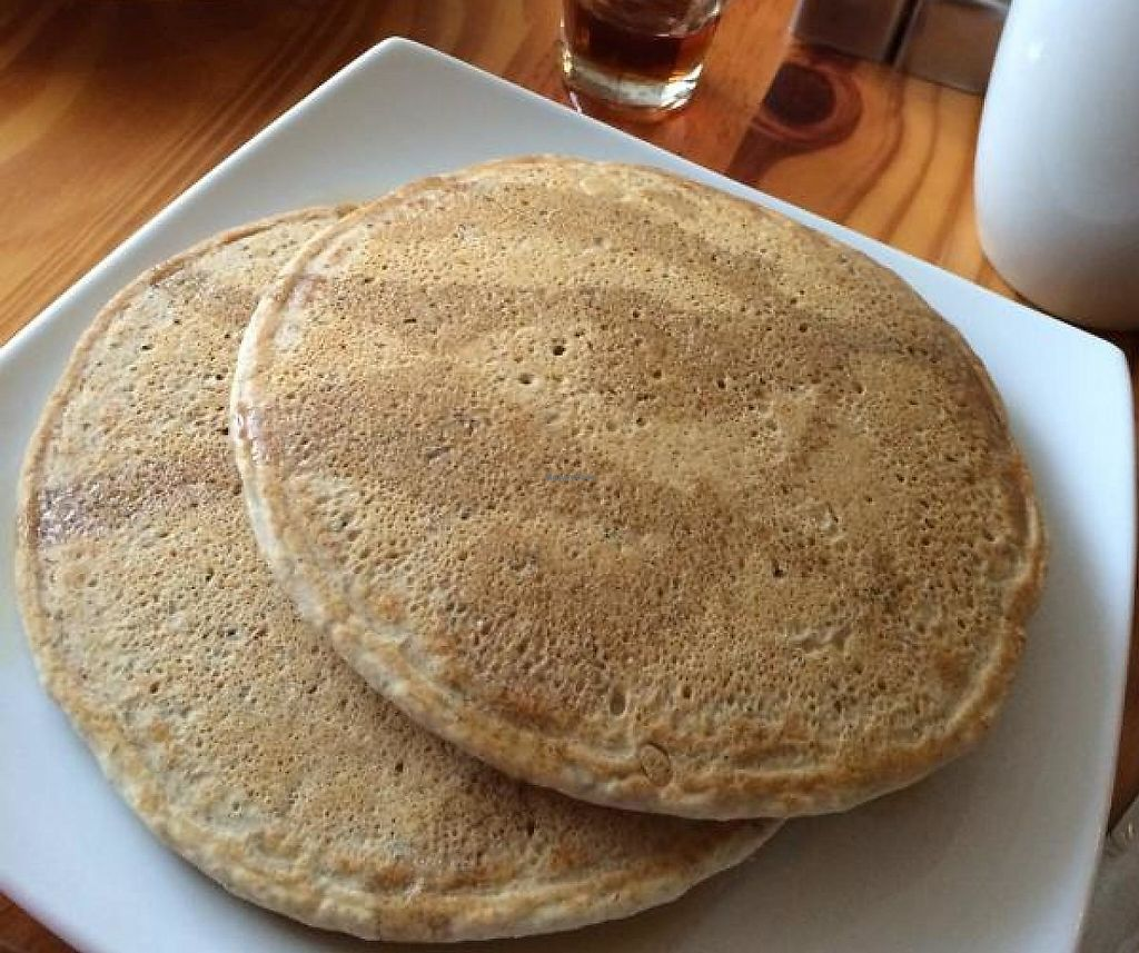 """Photo of Dolce  by <a href=""""/members/profile/KateTennant"""">KateTennant</a> <br/>Vegan and gluten free pancakes <br/> August 24, 2014  - <a href='/contact/abuse/image/33490/209893'>Report</a>"""