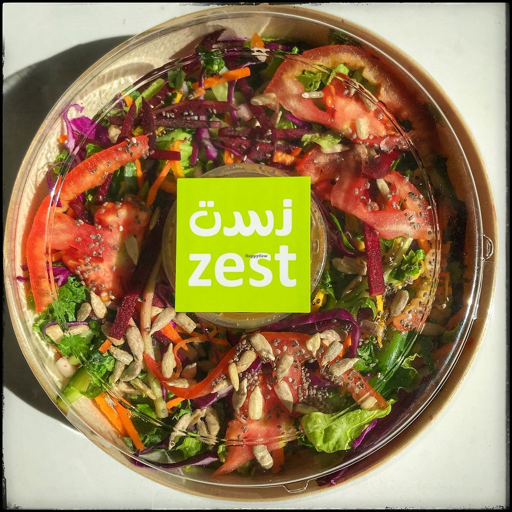 """Photo of Zest  by <a href=""""/members/profile/Coatzalcoatlx"""">Coatzalcoatlx</a> <br/>Farm Fresh, Organic Salad, composed of organic greens and veggies of the day.  <br/> March 9, 2018  - <a href='/contact/abuse/image/33516/368404'>Report</a>"""