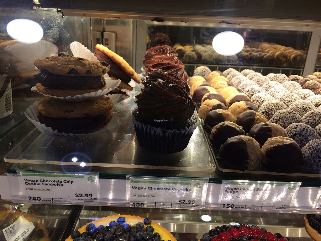 """Photo of Whole Foods Market  by <a href=""""/members/profile/Arti"""">Arti</a> <br/>Vegan goodies at the bakery <br/> March 19, 2018  - <a href='/contact/abuse/image/33519/372894'>Report</a>"""