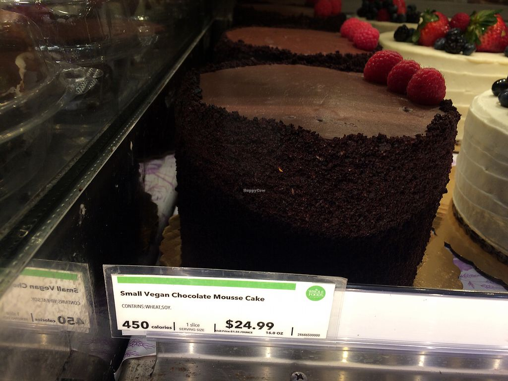 """Photo of Whole Foods Market  by <a href=""""/members/profile/Arti"""">Arti</a> <br/>vegan cake - nice to not have custom order <br/> March 19, 2018  - <a href='/contact/abuse/image/33519/372895'>Report</a>"""