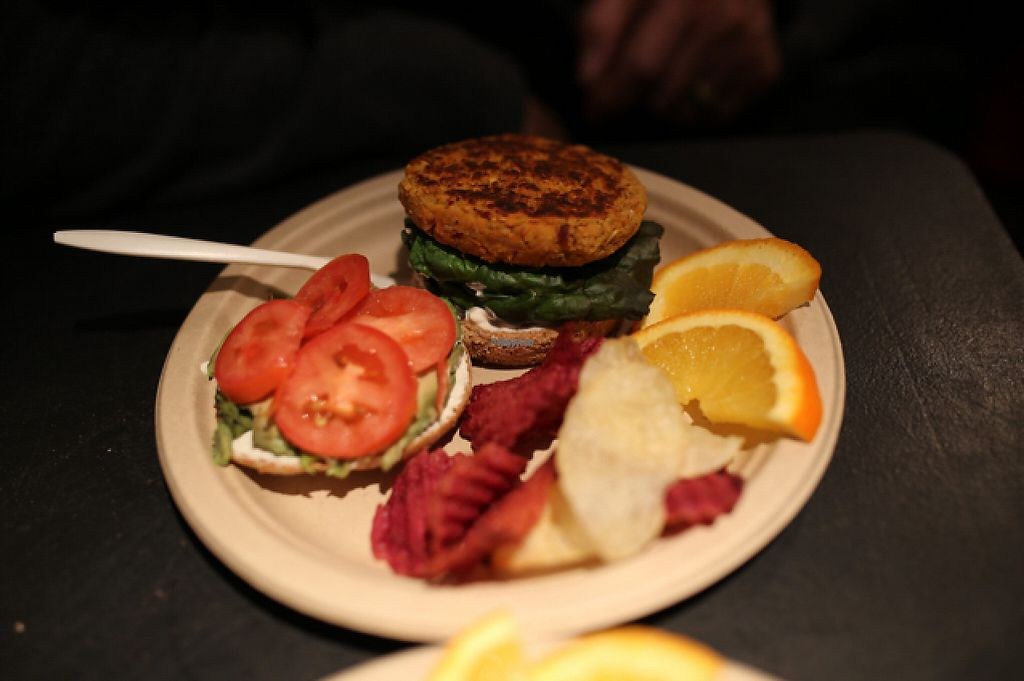 """Photo of Simple Bliss Cafe  by <a href=""""/members/profile/theveganpsychonaut"""">theveganpsychonaut</a> <br/>Tahoe Burger ? <br/> December 18, 2016  - <a href='/contact/abuse/image/33520/202578'>Report</a>"""