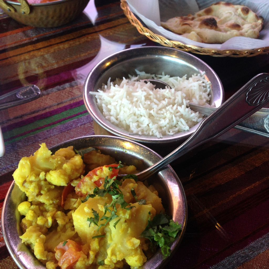 "Photo of Saffron Indian Cuisine and Bar  by <a href=""/members/profile/Kyliens"">Kyliens</a> <br/>Aloo Gobi <br/> June 20, 2016  - <a href='/contact/abuse/image/33522/154922'>Report</a>"