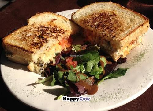 "Photo of CLOSED: The Rabbit Hole Cafe  by <a href=""/members/profile/kenvegan"">kenvegan</a> <br/>Vegan Tuna Melt - Delicious! <br/> December 4, 2013  - <a href='/contact/abuse/image/33526/59771'>Report</a>"
