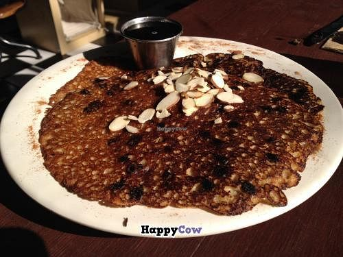 "Photo of CLOSED: The Rabbit Hole Cafe  by <a href=""/members/profile/kenvegan"">kenvegan</a> <br/>vegan chocolate chip pancakes <br/> December 4, 2013  - <a href='/contact/abuse/image/33526/59773'>Report</a>"