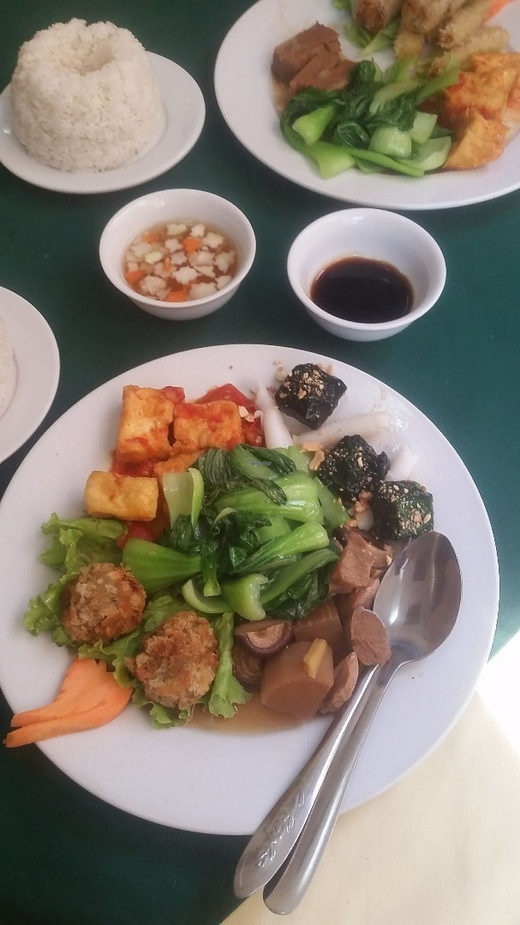 """Photo of Nang Tam  by <a href=""""/members/profile/Without_Cruelty_Blog"""">Without_Cruelty_Blog</a> <br/>Set menu 2B  <br/> December 9, 2016  - <a href='/contact/abuse/image/3353/198602'>Report</a>"""