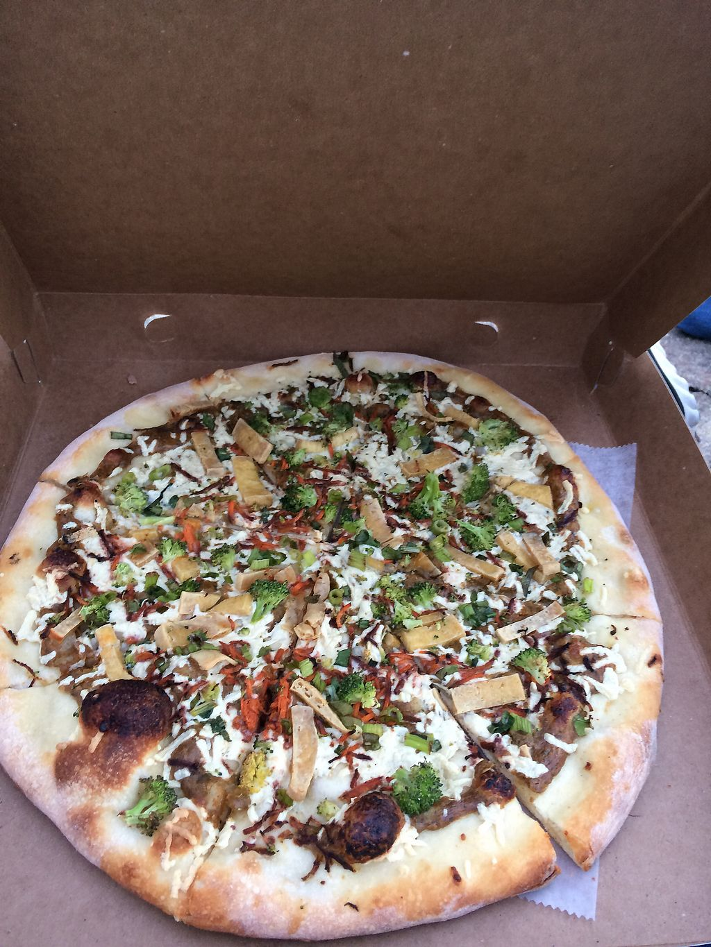 """Photo of Reel Pizza Cinerama  by <a href=""""/members/profile/giant%20bunnie"""">giant bunnie</a> <br/>the Manchurian candidate (the pizzas have movie names )  <br/> July 27, 2017  - <a href='/contact/abuse/image/33540/285515'>Report</a>"""