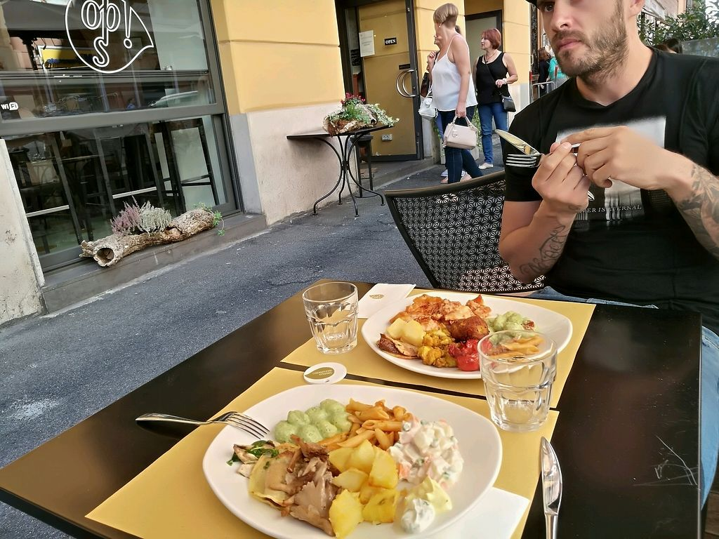 """Photo of Ops Cucina Mediterranea  by <a href=""""/members/profile/barooonka"""">barooonka</a> <br/>everything looked so good, that we had to take it all  <br/> September 22, 2017  - <a href='/contact/abuse/image/33562/307050'>Report</a>"""