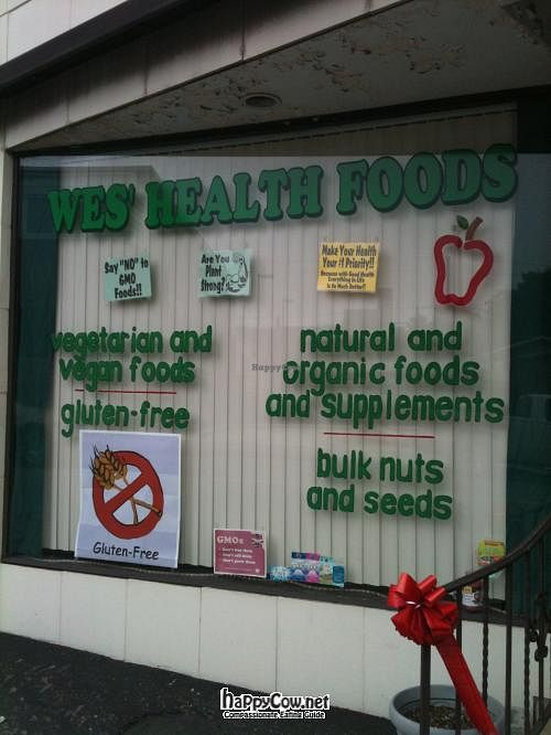 """Photo of Wes' Health Foods  by <a href=""""/members/profile/RobbyWesner13"""">RobbyWesner13</a> <br/> July 29, 2012  - <a href='/contact/abuse/image/33567/35235'>Report</a>"""