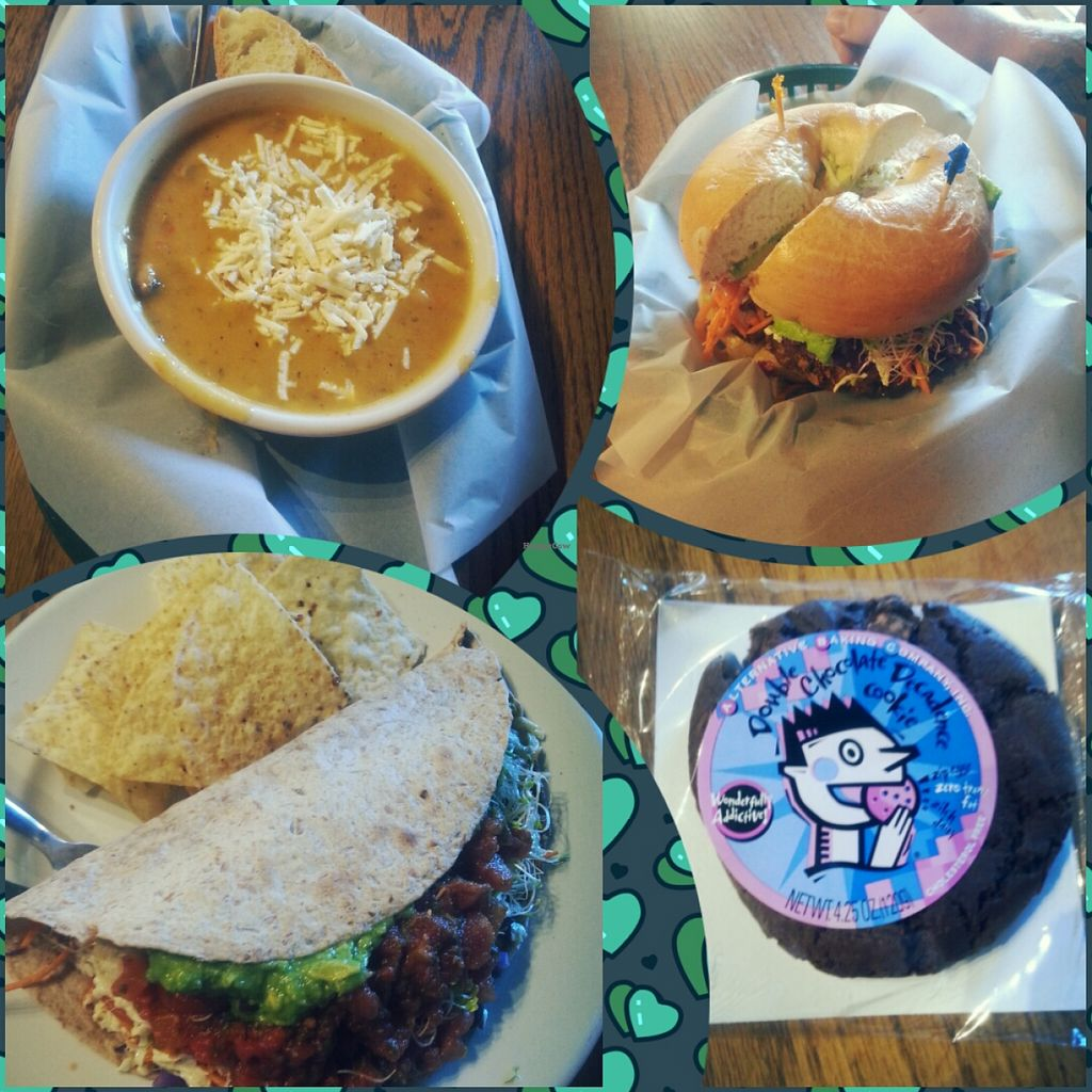 Photo of Sprouts Natural Foods Cafe  by indrebobinaite <br/>Delicious!!! :) <br/> August 12, 2015  - <a href='/contact/abuse/image/3356/113320'>Report</a>
