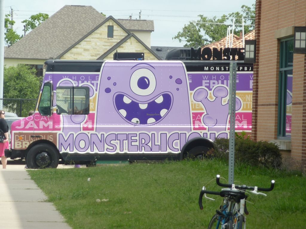 """Photo of CLOSED: Monster PBJ - Food Truck  by <a href=""""/members/profile/MizzB"""">MizzB</a> <br/>Monster PBJ truck <br/> December 13, 2015  - <a href='/contact/abuse/image/33576/128212'>Report</a>"""