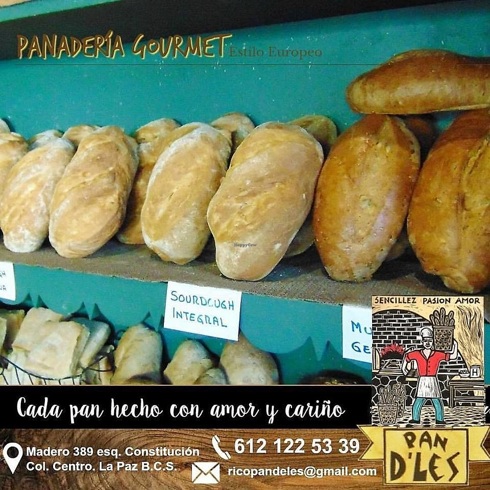 """Photo of Pan D'les Bakery  by <a href=""""/members/profile/YanethGris"""">YanethGris</a> <br/>Vegan bread  <br/> November 1, 2017  - <a href='/contact/abuse/image/33599/320677'>Report</a>"""