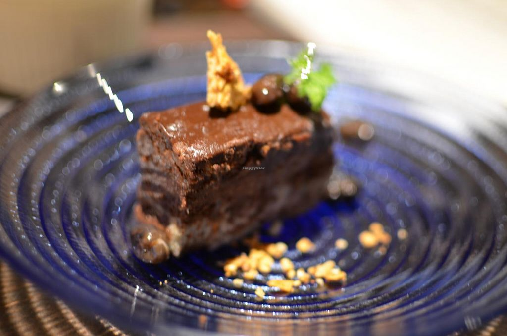 """Photo of Iki Laboratory  by <a href=""""/members/profile/chocoholicPhilosophe"""">chocoholicPhilosophe</a> <br/>Vegan chocolate cake <br/> March 19, 2015  - <a href='/contact/abuse/image/33663/96110'>Report</a>"""
