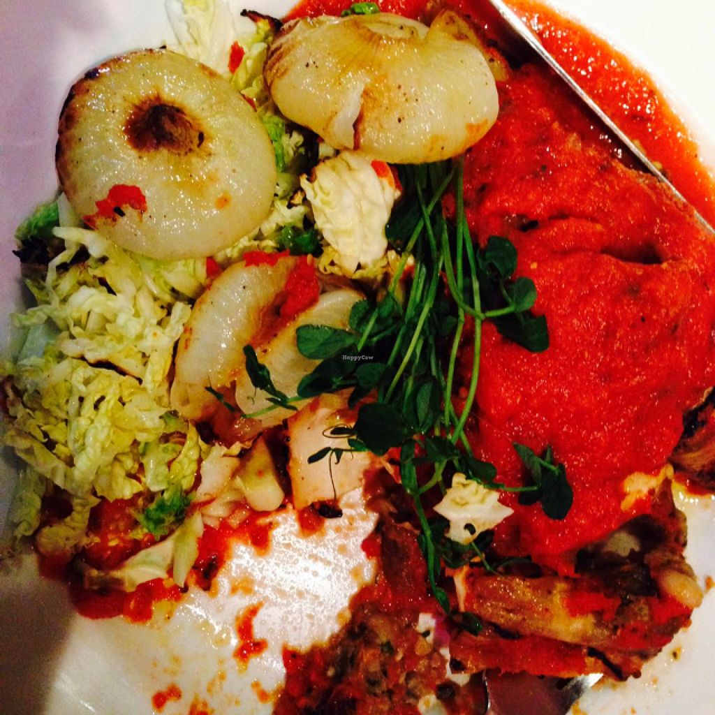 "Photo of New World Bistro Bar  by <a href=""/members/profile/Sofafilms"">Sofafilms</a> <br/>eggplant braciole  <br/> December 31, 2014  - <a href='/contact/abuse/image/33712/89163'>Report</a>"