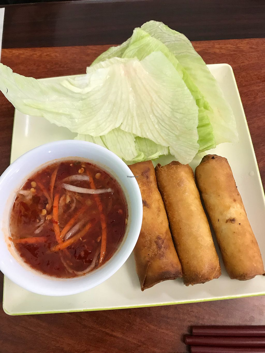 "Photo of Thien Dang Vegetarian  by <a href=""/members/profile/sjberrest"">sjberrest</a> <br/>Egg roll <br/> April 22, 2018  - <a href='/contact/abuse/image/33714/389588'>Report</a>"