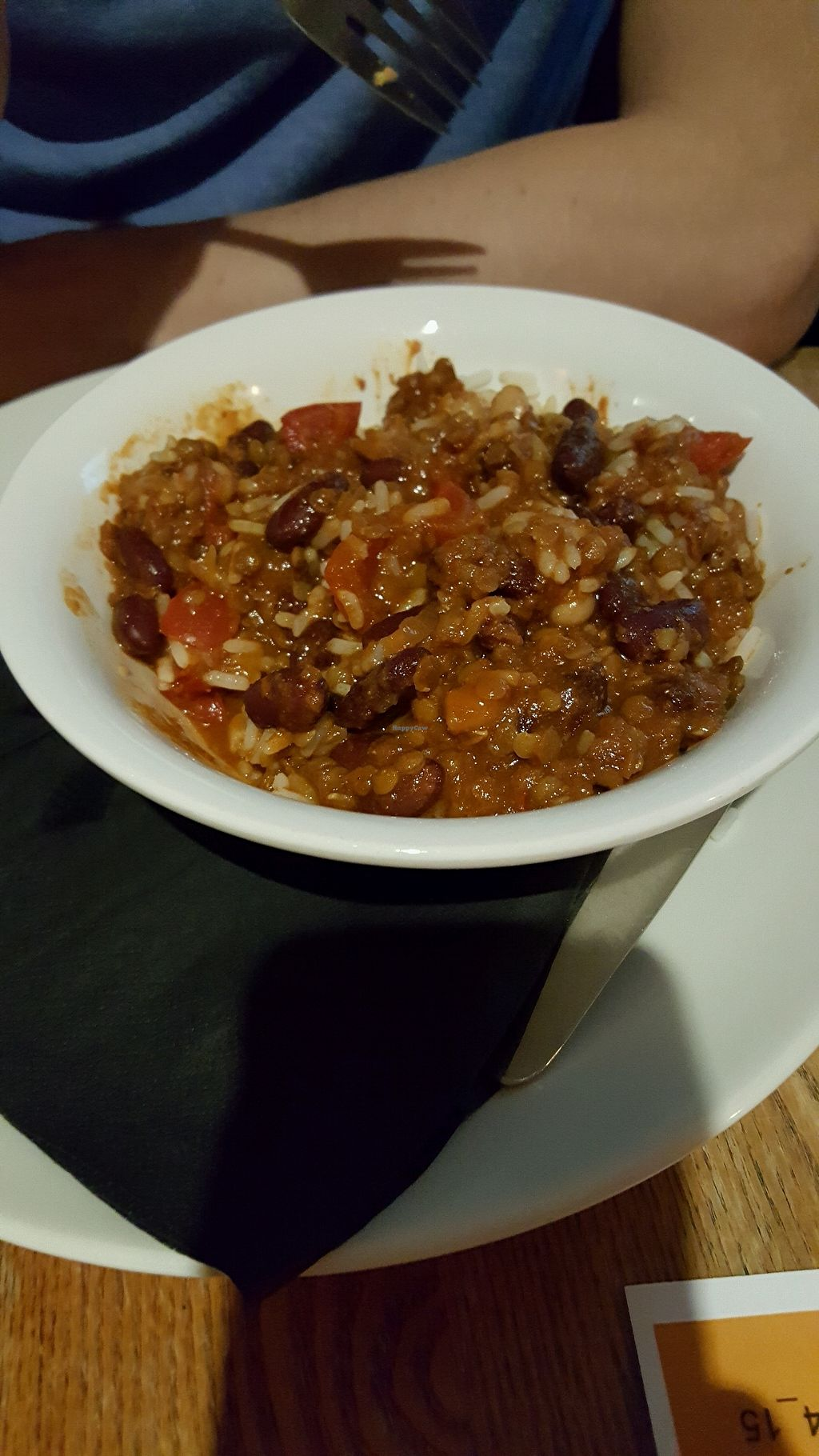 "Photo of Brass Monkey Leith  by <a href=""/members/profile/Lex28"">Lex28</a> <br/>Vegan chilli <br/> December 11, 2017  - <a href='/contact/abuse/image/33716/334732'>Report</a>"