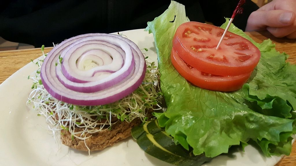 """Photo of Tommy's Restaurant  by <a href=""""/members/profile/Tots"""">Tots</a> <br/>veggie burger <br/> March 3, 2018  - <a href='/contact/abuse/image/3374/366295'>Report</a>"""