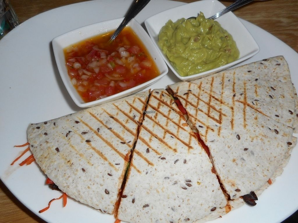 """Photo of Fresh - Bolshaya Dmitrovka  by <a href=""""/members/profile/J%20and%20J"""">J and J</a> <br/>quesadilla without cheese ... super delicious and healthy! <br/> August 30, 2016  - <a href='/contact/abuse/image/33756/172311'>Report</a>"""