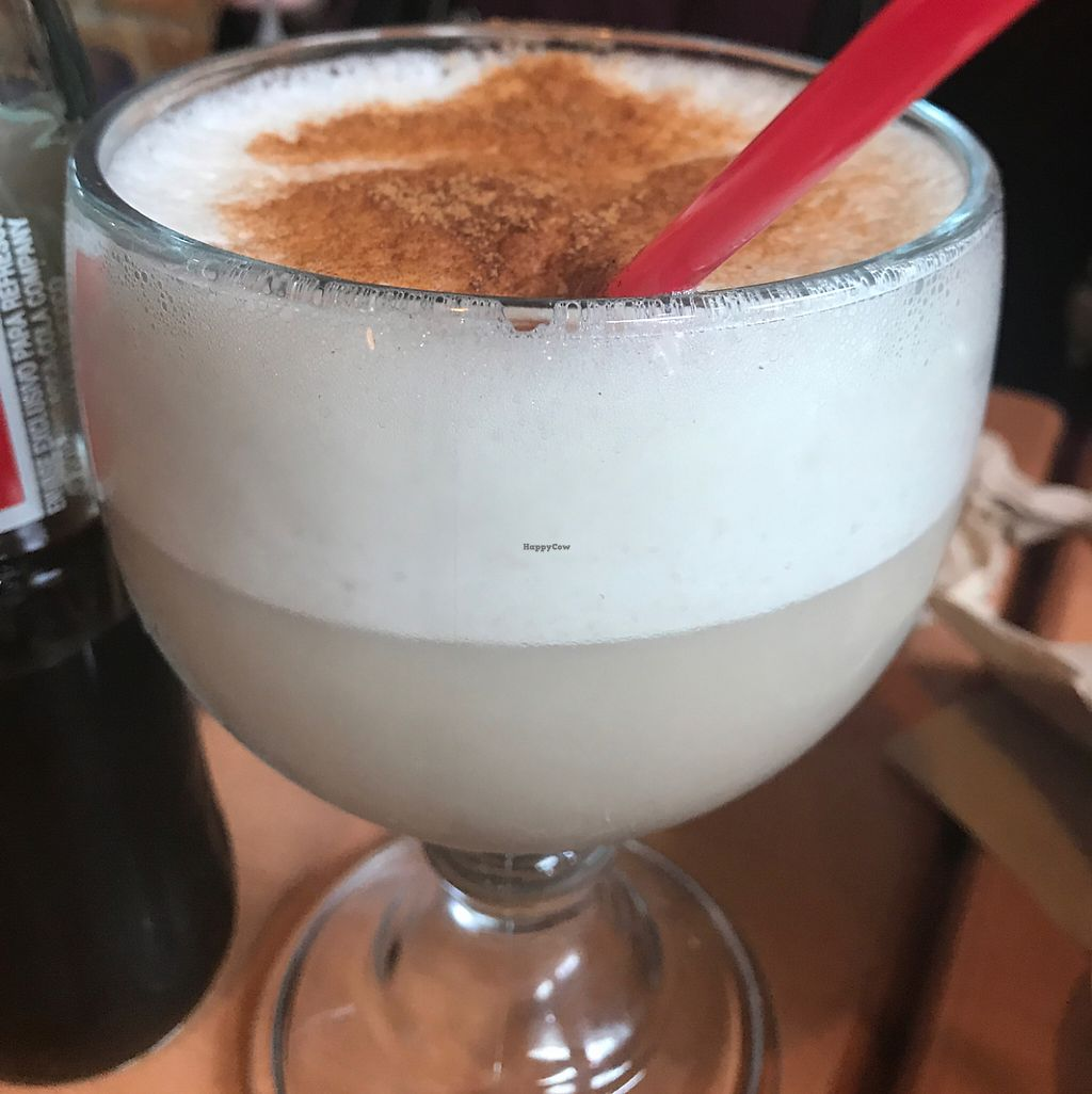 """Photo of Ranchos Cocina - North Park  by <a href=""""/members/profile/xmrfigx"""">xmrfigx</a> <br/>Soymilk Horchata <br/> May 29, 2017  - <a href='/contact/abuse/image/3375/263931'>Report</a>"""