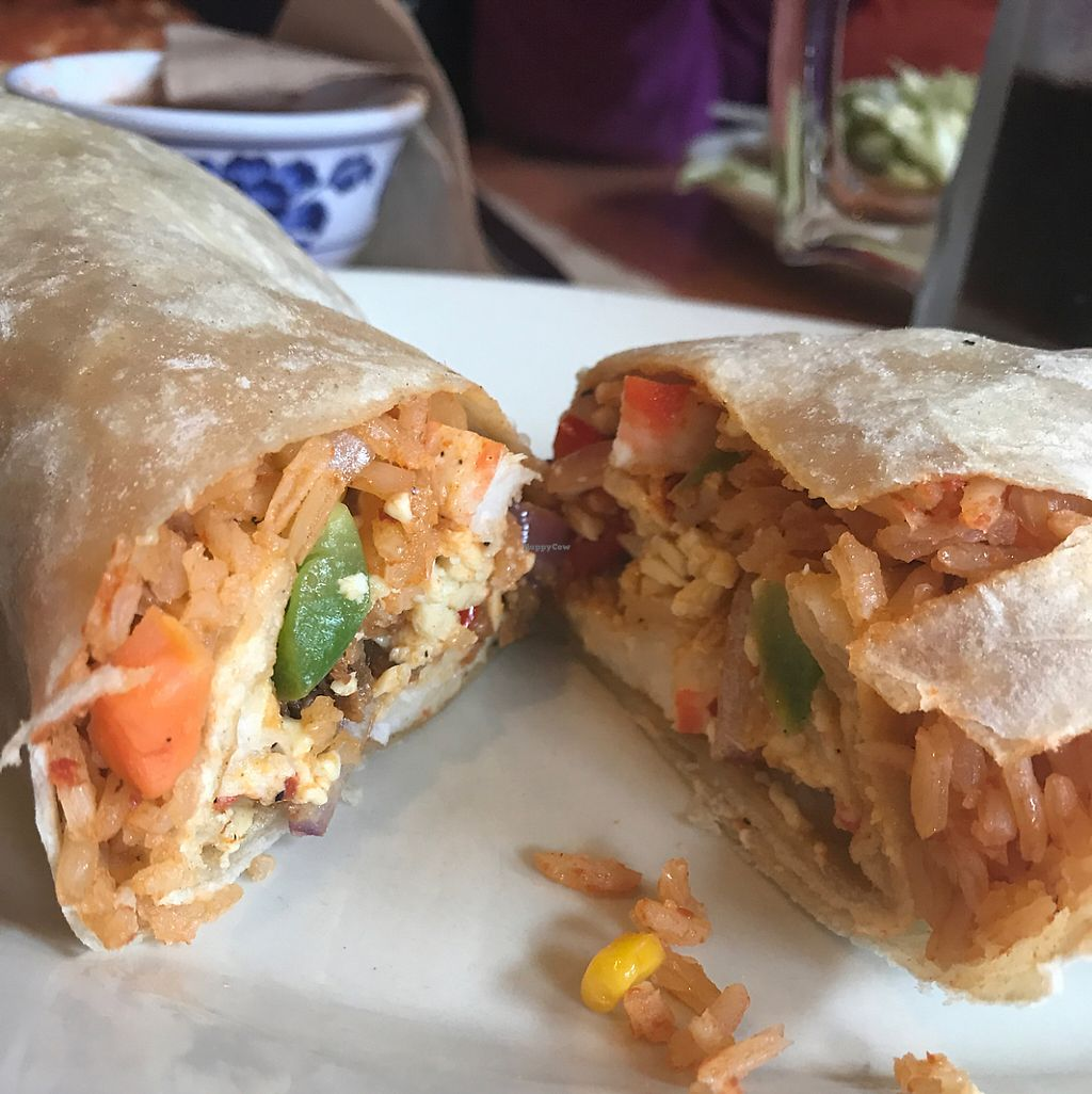 """Photo of Ranchos Cocina - North Park  by <a href=""""/members/profile/xmrfigx"""">xmrfigx</a> <br/>Surf n' turf burrito <br/> May 29, 2017  - <a href='/contact/abuse/image/3375/263933'>Report</a>"""