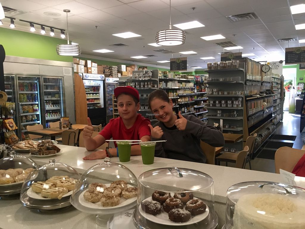 """Photo of REMOVED: Bay Naturals  by <a href=""""/members/profile/GaiaGoldman"""">GaiaGoldman</a> <br/>Our kids, vegan from birth, enjoying breakfast for the third day in a row:) <br/> March 30, 2016  - <a href='/contact/abuse/image/33771/141886'>Report</a>"""