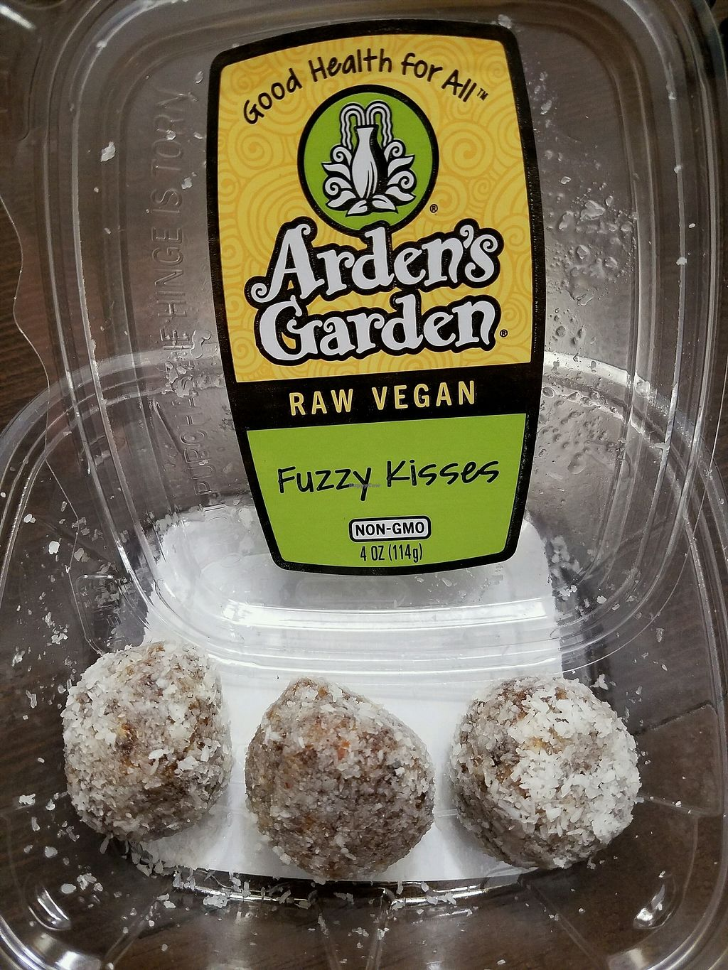 """Photo of Arden's Garden - East Point  by <a href=""""/members/profile/Dark%26Stormy"""">Dark&Stormy</a> <br/>Fuzzy Kisses, great vegan snack! <br/> October 31, 2017  - <a href='/contact/abuse/image/33775/320322'>Report</a>"""