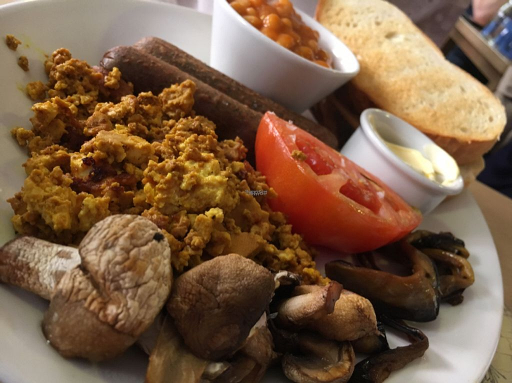 """Photo of Global Tribe Cafe  by <a href=""""/members/profile/hack_man"""">hack_man</a> <br/>vegan breakfast  <br/> August 6, 2016  - <a href='/contact/abuse/image/33793/166233'>Report</a>"""