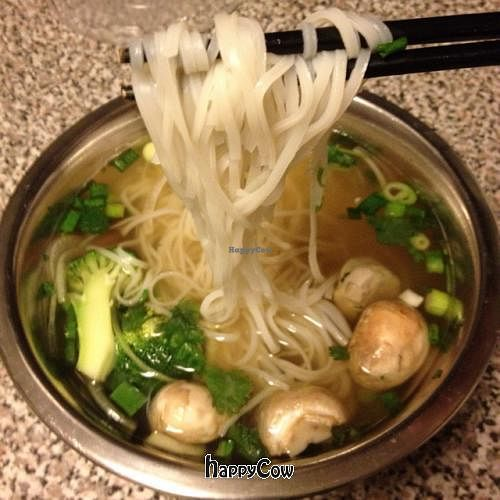 """Photo of CLOSED: Three Jewels  by <a href=""""/members/profile/JoeVeg"""">JoeVeg</a> <br/>vegan pho!  <br/> October 9, 2012  - <a href='/contact/abuse/image/33806/38862'>Report</a>"""