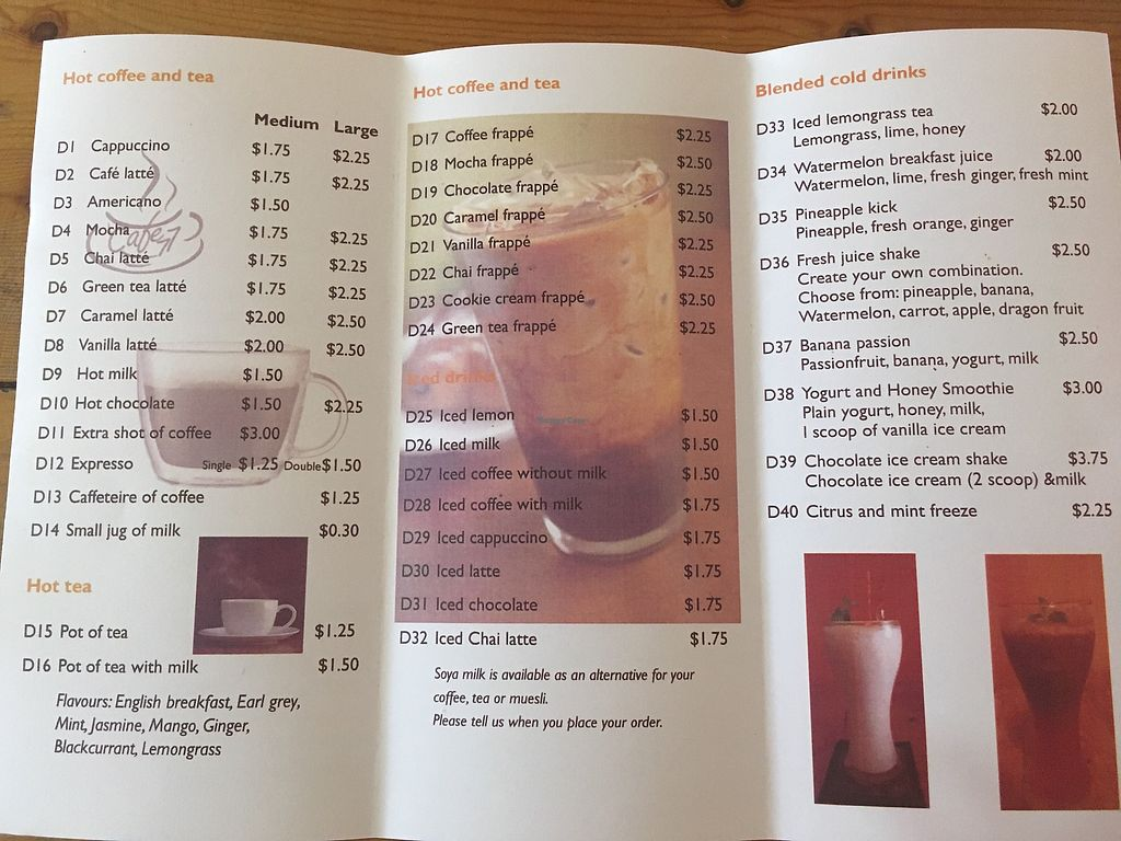 """Photo of Cafe Soleil  by <a href=""""/members/profile/maren"""">maren</a> <br/>Drinks1 <br/> January 22, 2018  - <a href='/contact/abuse/image/33811/349827'>Report</a>"""